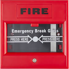 Emergency Break Glass -Red