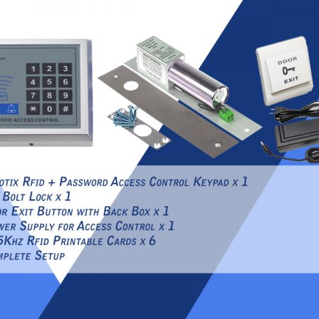 Clotix Rfid Access Control Keypad